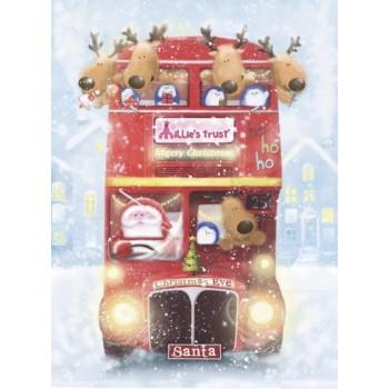 Millie's Trust Christmas Bus Cards