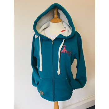 Millie's Trust Carribean Blue Hoodie - Adult