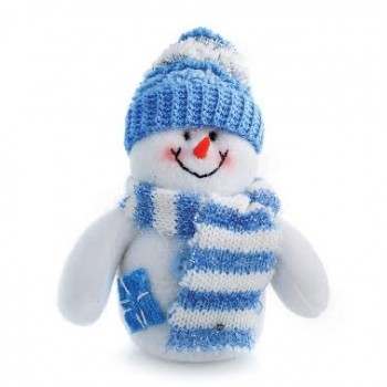 Christmas Cards - Blue Snowman