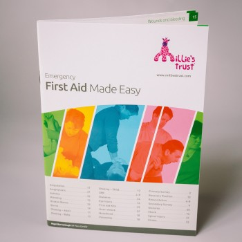 Millie's Trust Emergency First Aid Made Easy Book