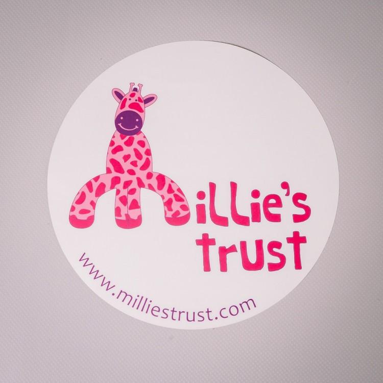 Millie's Trust Car Sticker