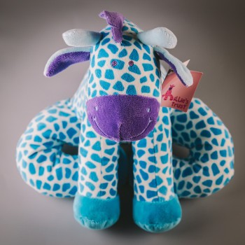 Millie's Trust Soft Toy Giraffe - Blue