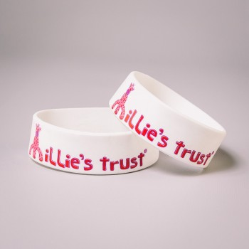 Millie's Trust Adult Silicone Wristband