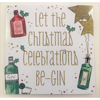 Christmas Cards - Gin